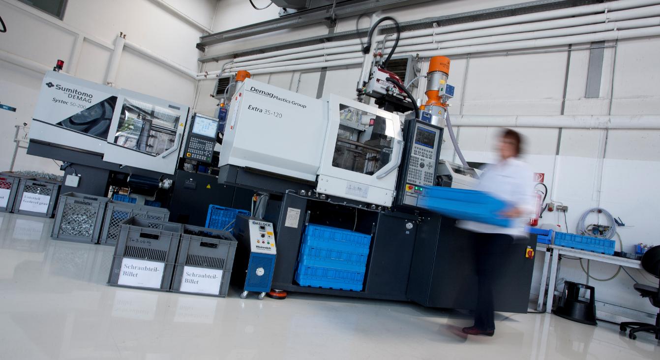 Gaslock Produktion - Alles aus einer Hand. Von der thermoplastischen Kunststoffverarbeitung bis zur SMD Platinenbestückung